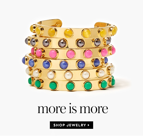 more is more. shop jewelry.