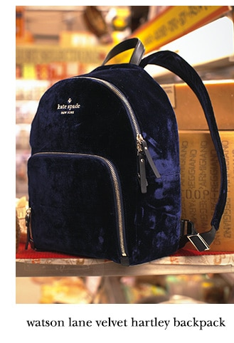 watson lane velvet hartley backpack