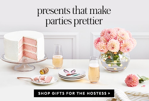 presents that make parties prettier. shop gifts for the hostess.
