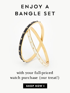enjoy a bangle set with your full-priced purchase (our treat!) shop now.