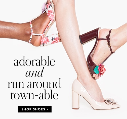 adorable and run around town-able. shop shoes.