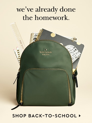 we've already done the homework. shop back-to-school.