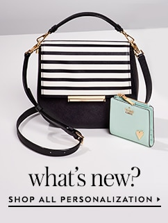 what's new. shop all personalization.